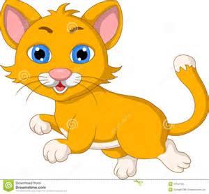 Cute Kitty Cat Cartoon