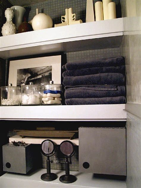 creative ideas  bathroom towel storage midcityeast