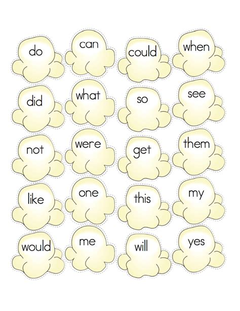 sight words page    teach