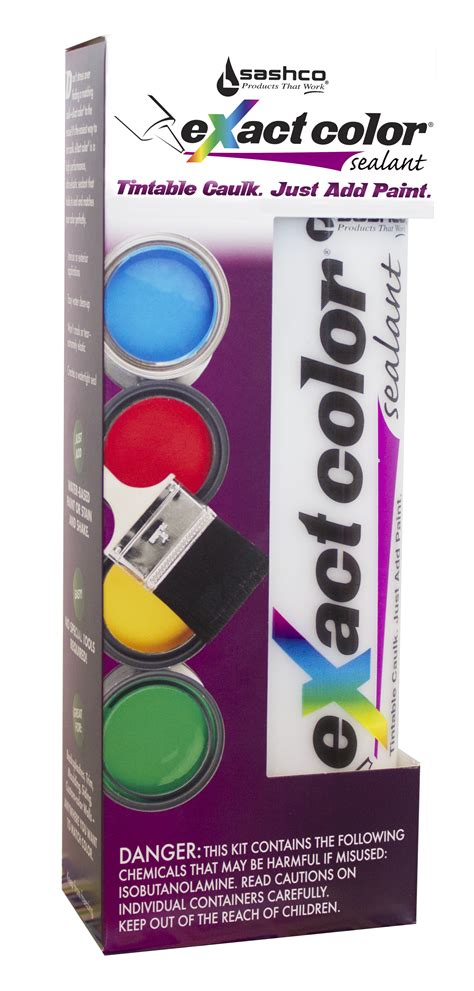 in color exact color 174 by sashco colored caulk in custom colors