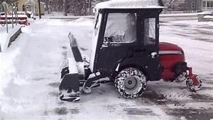 Ferris F800x W   Cab  U0026 Snowblower