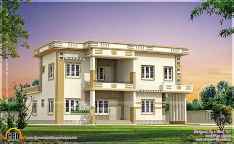 1500 square house plans contemporary villa in different color combinations