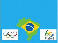 Olympic of Rio 2016 Backgrounds Blue, Flag, Green, White