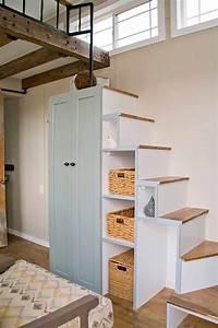 Treppe Mit Stauraum : 5 tiny houses we loved this week treppe kinderzimmer ~ Michelbontemps.com Haus und Dekorationen