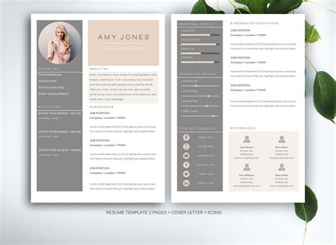 16434 designer resume templates 2 70 well designed resume exles for your inspiration