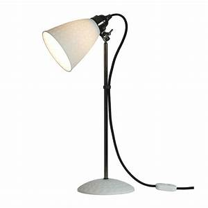 hector 21 table lamp white textured by original btc With meyer 1 light table lamp