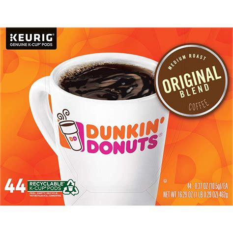 It is great if you have. Dunkin Donuts K Cups Original Blend Coffee, Medium Roast, K Cup Pods for Keurig Coffee Makers ...