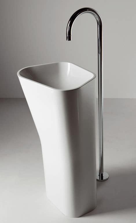 Modern Bathroom Freestanding Sinks by Free Standing Sinks From Kos Lab01 And Lab02 Floor Mount