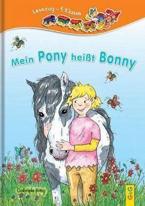 mein pony heisst bonny von gabriele rittig portofrei bei