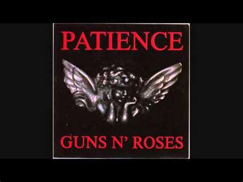 testo patience guns n roses guns n roses patience acoustic instrumental strings