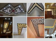 16 Modern CNC False Ceiling Corner Designs Ideas Decor Units
