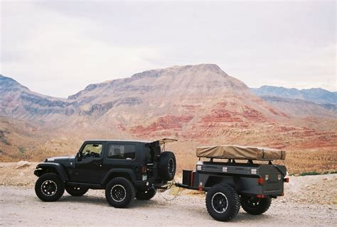 jeep cing trailer jeep wrangler with trailer jeeps pinterest