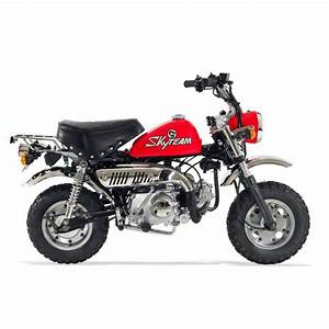 Moto Honda 50cc : moto monkey 50cc une mini moto r tro ~ Melissatoandfro.com Idées de Décoration