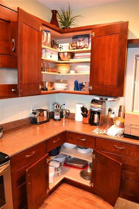 corner kitchen cabinet ideas kitchen easy reach corners zero watsed space kitchen