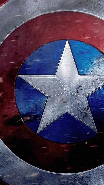 Captain America Shield Wallpapers Artwork Avenger Phone