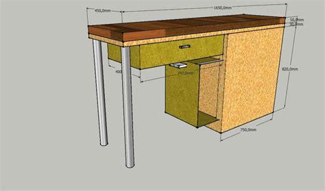 fabriquer sa table de cuisine table rabattable cuisine fabriquer un meuble de cuisine