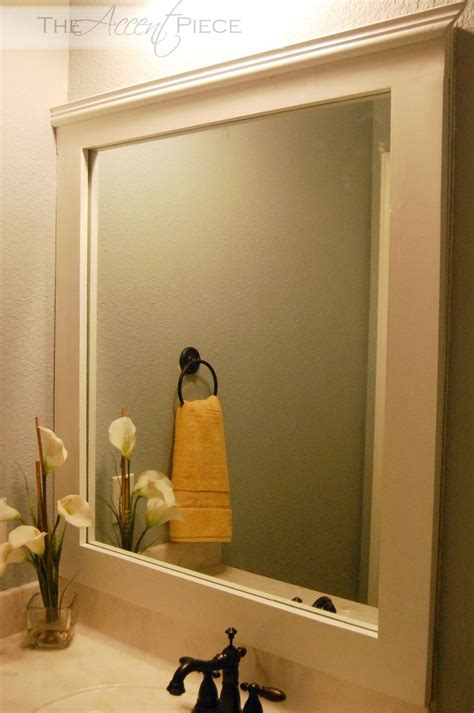 Bathroom Mirror Frame Ideas by Best 20 Frame Bathroom Mirrors Ideas On