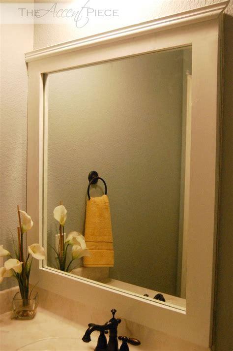 Bathroom Mirror Frames by Best 20 Frame Bathroom Mirrors Ideas On