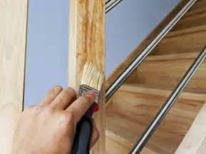 Peindre Un Escalier Bois Sans Poncer by Comment Peindre Un Escalier Leroy Merlin
