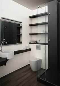 Modèle Salle De Bain : la salle de bain noir et blanc les derni res tendances ~ Voncanada.com Idées de Décoration