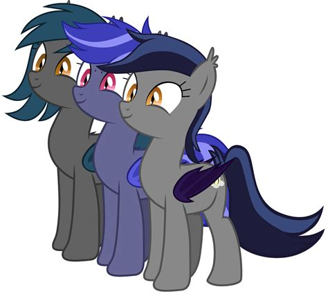 bat ponies mlp pony oc cutie mark fim luna echo princess vector night adorable half friendship magic crusaders url absurd