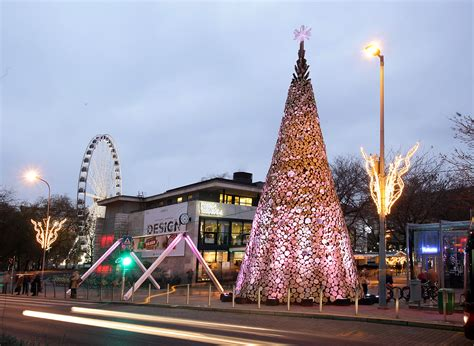 Gallery Of Hello Wood Creates Three Christmas Trees In