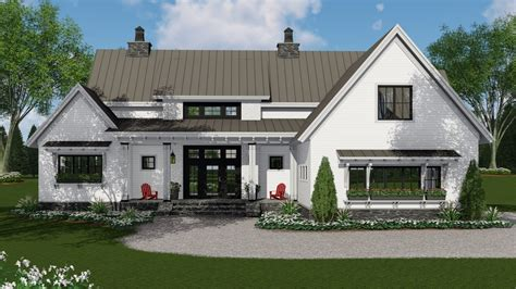 story farm house style house plan  tacoma