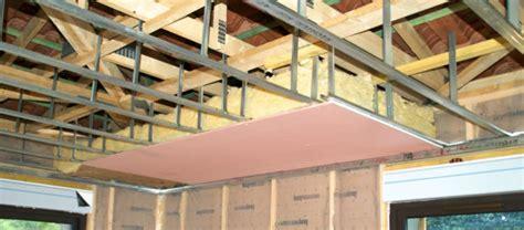 poncer un plafond en placo faire un faux plafond en placo