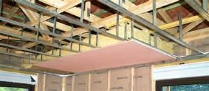 Faire Un Faux Plafond : faire un faux plafond en placo ~ Premium-room.com Idées de Décoration