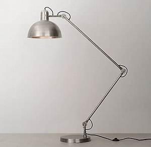 orville oversized task floor lamp antique pewter With antique pewter floor lamp
