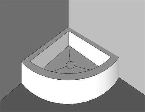 Corner Floor Mop Sink by Revitcity Object Corner Mop Sink