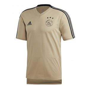 ajax trainingsshirt goud   kopen trainingskleding