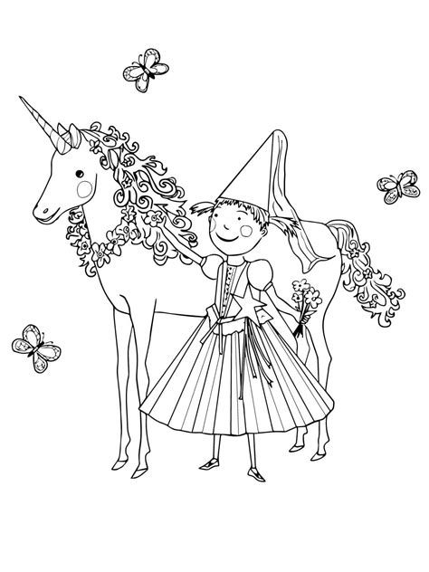 unicorn color pages  children coloring pages  kids
