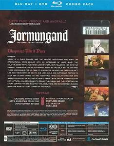 Jormungand – Season 1 (Blu-ray / DVD Combo Pack) – REGION ...