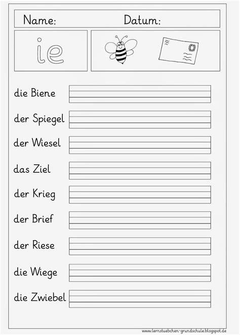 Lernstübchen DEU 1 Buchstabeneinführung Arbeitsblätter