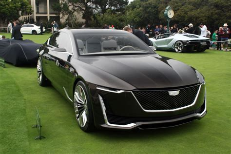 future cadillac escala cadillac escala concept previews the future of american