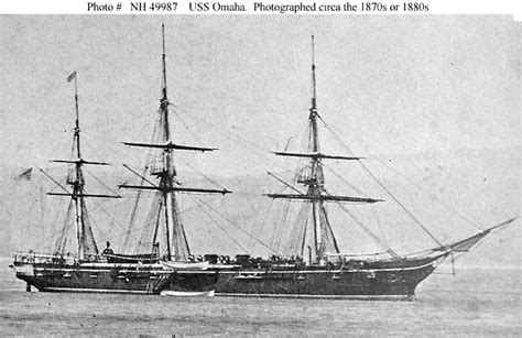USS Omaha (1869) - Wikipedia