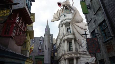 universal studios harry poter diagon alley tour the wizarding world of harry potter universal studios florida