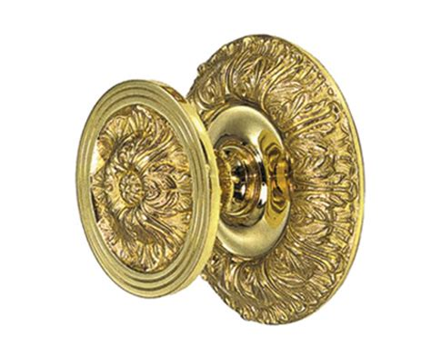 decorative  plain door knobs danico brass esi