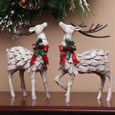reindeer figurines for christmas webnuggetz com