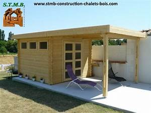 Chalet Bois Toit Plat : fabricant constructeur de kits chalets en bois habitables stmb ~ Melissatoandfro.com Idées de Décoration