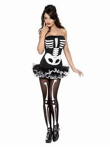 Halloween Skelett Kostüm : sexy halloween skelett kost m f r damen kost me f r ~ Lizthompson.info Haus und Dekorationen