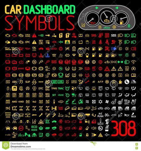 nettoyeur siege auto dirigez la collection d 39 indicateurs de panneau de tableau