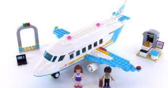 Lego Friends Heartlake Private Jet Review! Set 41100