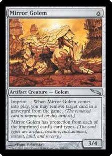 mirror golem magic card