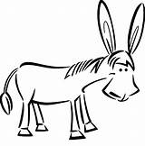 Donkey Coloring Draw Mexican Pages Drawing Face Template Riding Clip Kong Jesus Clipart Mule Luna Surprised Sketch Baby Clipartmag Colorluna sketch template