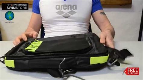arena fast coach bag wwwfitswimmingcouk review youtube