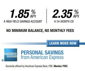 American Express Offers New Ways Save With Personal