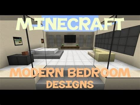 minecraft bedroom design ideas minecraft modern bedroom designs