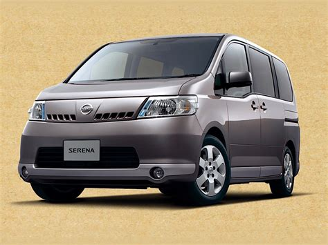It needs to sustain the same price, which usually techniques about 32.000. NISSAN Serena specs & photos - 2005, 2006, 2007, 2008 ...